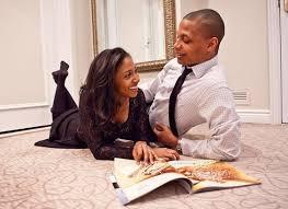 black couple talking 8