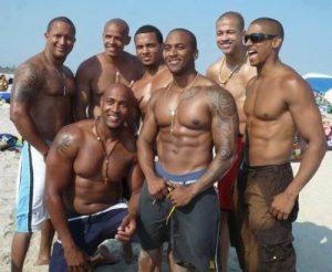 group of black men 2