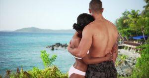 black summer couple