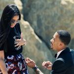 engaged girl