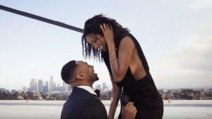 black man proposing