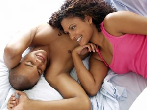 black couple in bed 2